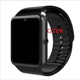 Sim Cards For Smartphones Australia - GT08 Smart Watch Bluetooth Smartwatches For Android Smartphones SIM Card Slot NFC Health Watchs for Android with Retail Box
