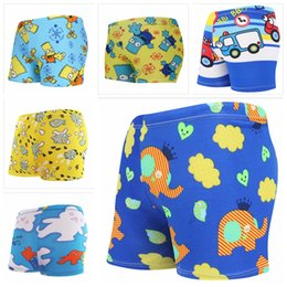 4c8074ea77fad Boy summer swimwear cute cartoon swimming pant baby comfort swimsuit cute animal  printed short boy swim trunks