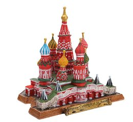 $enCountryForm.capitalKeyWord Australia - 2019 new arrival Russian architectural ornaments Vasily Ascension Church Living Art Decorations Hand-painted resin crafts