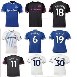 2018 2019 everton soccer jersey away pink black 18 19 NIASSE Walcott CENK  TOSUN SIGURDSSON KLAASSEN KEANE away football shirts top quality 30defbea9