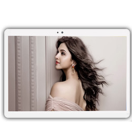 Discount tablets 3g dual core - laptop Octa Core 3G GPS Tablet 4GB RAM 32 GB ROM 1920X1200 Dual Cameras 8MP Android 7.0 Tablet 10.1 inch S109 notebook c