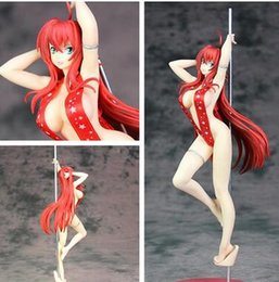 Sexy Pole Dancing Australia - 30cm High School DxD Sexy Rias Gremory Pole Dance Action Figure PVC New Collection figures toys Collection for Christmas gift