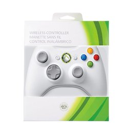 $enCountryForm.capitalKeyWord Australia - Brand New OEM Xbox 360 Wired Wireless Controller For Microsoft Xbox 360 Game Console Windows System (White Black)