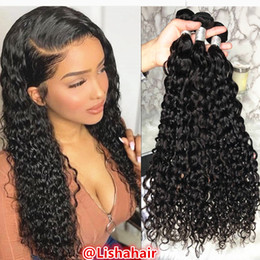Curly Human Hair For Weaves Australia - Curly Weave Human Hair Bundles virgin Human Hair Weave 3 Double-wefted for Black Women Bundles of Hair