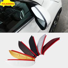 2pcs для Nissan Qashqai 2016-2018 акрилового зеркало заднего вида Брови крышки уравновешивания автомобиля стилизация аксессуаров на Распродаже