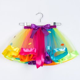 $enCountryForm.capitalKeyWord Australia - Princess Tutu Puffy Skirt 2 Designs INS Dress Costume Girls Bubble Bust Skirt Party Communion Gowns 3 Pieces ePacket