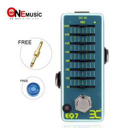 ElEctric guitar EqualizEr online shopping - EX Micro Pedal EQ7 Mini Guitar Equalizer Effect Pedal Band EQ Metal True Bypass Guitar Accessories