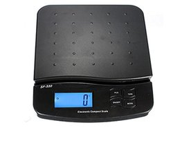 Hot Scale Australia - Hot sale 25kg 1g 55lb Digital Postal Shipping Scale Table Top Parcel Letter Postage Weigh Electronic Weighing Scales LCD Back-lit free shipp