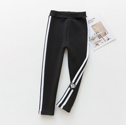 Warm Pants Boy NZ - good quality Winter Pants Warm Leggings For Boys 2019 Kids Winter Thick Trousers Casual Striped Velvet Bottoms Sports Clothing