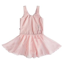 Toddler Leotards Australia - Girls Sleeveless Gymnastics Ballet Dress Toddler Kids Dance Leotard Dancewear