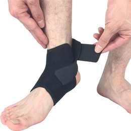$enCountryForm.capitalKeyWord Australia - 1pc Adjustable Ankle Support Sports Safety Ankle Brace Support Stabilizer Foot Wrap for Ball Games Running Fitness #680289