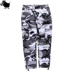 6980584c66f Man Si Tun Mens Brand Camo Cargo Pants Hiphop Casual Cotton Multi Pockets  Streetwear Pants Fashion Baggy Tactical Trouser