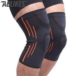 36a8a10e0d Badminton Knee Support Australia - Aolikes 1 pcs high quality 3D weaving  breathable elastic basketball knee