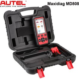 System Engine Australia - Autel MaxiDiag MD808 Diagnostic Scanner Tool for Engine, Transmission, SRS and ABS Systems with EPB, Oil Reset, DPF, SAS and BMS In Stock