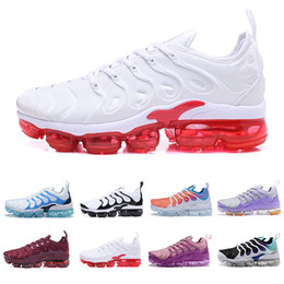 athletic shoes girls 2019 - 2019 HOT Fashion TN Plus womens Athletic Breathable Shoes white pink purple girl grape womens female sports trainers sne