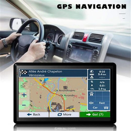gps car navigation europe map Australia - GPS For Car Navigation,7 Inch Capacitive Screen Car Truck GPS Navigation RAM256M-ROM8GB Navigator New Europe Russia Spain Maps