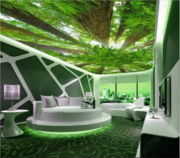 $enCountryForm.capitalKeyWord Australia - 3d room wallpaper custom photo non-woven mural Sky zenith mural in the forest mural decoration design wall-papers