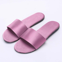 4b28302537bd2 Women Slides Fashion Slipper Sandals Soft Sole Casual Party Sandals Home  Bathroom Slippers Ladies Beach Peep Toe Shoe 10