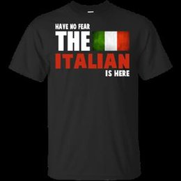 $enCountryForm.capitalKeyWord Australia - Have No Fear The Italian Flag Is Here Italian Pride Funny T Shirt Mens BlaHarajuku Tee