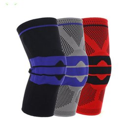 Knee pad online shopping - New Elastic Knee Support Brace Knee pads Adjustable Patella Volleyball Knee Pads Basketball Safety Guard Strap Protector ZZA716