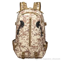 army cloths Australia - Hiking mountaineering bag manufacturers wholesale outdoor sports travel army camouflage backpack Oxford cloth tactical 3p backpack