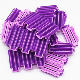 curler clips 2019 - 36pcs pack Pro Hair Clip Wave Perm Rod Bars Corn Curler DIY Roots Preming Fluffy Hairdressing Styling Tool For Women