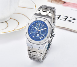 $enCountryForm.capitalKeyWord Australia - Brand upgraded new royal oak Famous watch!high-quality Men's Antique stainless steel stopwatch royal brand watches montres