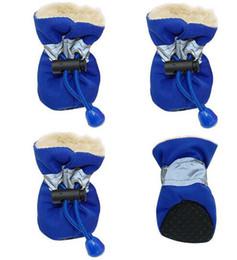$enCountryForm.capitalKeyWord Australia - Waterproof Winter Pet Dog Shoes Anti-slip Rain Snow Boots Footwear Thick Warm For Small Cats Dogs Puppy Dog Socks Booties