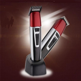 $enCountryForm.capitalKeyWord NZ - Electric Man Beard Trimmer Shaving Clipper Shaver Grooming Rechargeable Hair Styling Cutting Machine Body Haircutter Eu 220v