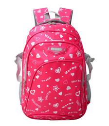 Cheap Cotton Backpacks NZ - Children School Bags for teenage Girls Women Printing Backpack Cheap Shoulder Bag female laptop daily rucksack mochila satchel