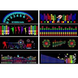 $enCountryForm.capitalKeyWord Australia - 90X25CM Car Sticker Music Sound Rhythm LED Flash Light Lamp Sound Activated Equalizer Rear Window Styling Cool Sticker