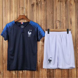 Wholesale France team jersey mub soccer World Cup kids s jerseys stars Glenn Seidman children s clothes