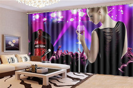 Price Kitchens Australia - 3d Curtain Price Music Night Sexy Girl Decoration Indoor Living Room Bedroom Kitchen Window Blackout Curtain