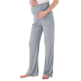 Leggings Pregnant Australia - Maternity Clothes Pregnant Clothes Maternity Pregnant Straight Lounge Stretch Pants Trousers Maternity Pants ropa maternidad D28