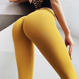 slimming workout leggings Australia - 2019 Sexy Yoga Pants Sport Leggings High Waist Push Up Athletic Fitness Slim Gym Running Tights Black Workout Sports Pants Yoga Leggings SA3