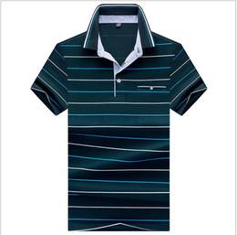 $enCountryForm.capitalKeyWord Australia - New Polo Shirt Men Slim Fit Turn Down Collar Summer Casual Mens Polos Short Sleeve S-3XL Solid Blue White Red Purple Red Green