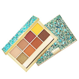 $enCountryForm.capitalKeyWord UK - Hot Eye Shadow Makeup Palettes Waterproof Earth Warm Shimmer 8 Color Matte Powder Suitable For Party Wedding Makeup