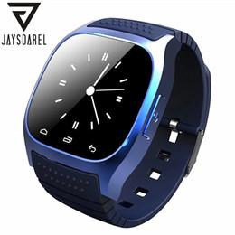 Smart Watch Android Sync Australia - JAYSDAREL M26 Bluetooth Smart Watch For Android iOS Sync Phone Call Pedometer Anti-Lost Wrist Smartwatch PK GT08 DZ09 GV18 U8