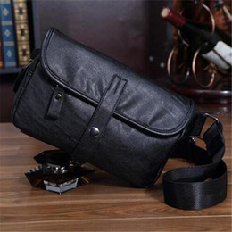 shoulder bag trend Australia - Factory sales brand men pack summer fashion trend in man purse worn outdoors splicing leather shoulder bag, Japan and single shoulder bag