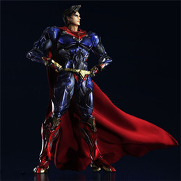 Superman toyS free online shopping - Play Arts Superman Anime Figure Action Figures Christmas Gifts Toys Birthdays Gifts Doll Hot Sale