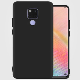 Free Cellphone Cases Australia - For Huawei Mate 20 Pro frosted soft TPU cellphone case mate 20 frosted case mate 20 X case free shipping