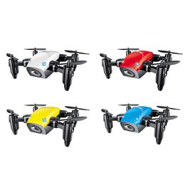 helicopter boxed Australia - Mini Drone With Camera WiFi FPV Flying Remote Control Quadcopter Micro Pocket Toys Dron Altitude Hold RC Helicopters Gifts
