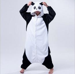AnimAl onesie costume for Adults online shopping - New Adult Animal Pajamas Rilakkuma Panda Pajamas Sleepsuit Onesie Sleepwear Unisex Cosplay Halloween Costumes for Men
