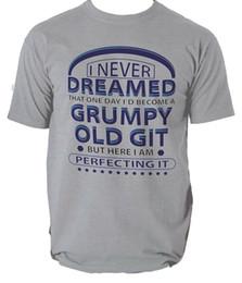 $enCountryForm.capitalKeyWord Australia - Perfecting Grumpy Old Git Funny T Shirt MENS Christmas Gift for Him Dad Grandad Men Women Unisex Fashion tshirt Free Shipping Funny