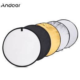 "photography reflector stand 2019 - kits Andoer 24"" 60cm 5 in 1 Portable Photography Studio Multi Photo Disc Collapsible Light Reflector Photo Studio"