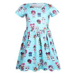 Silk pink baby dreSS online shopping - 2019 hot Summer baby Kids Designer Clothes Girls summer new children s dress girls skirt ice silk dress