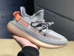 $enCountryForm.capitalKeyWord Australia - V2 Designer Sneakers New True Form Clay Hyperspace Static Best Quality Kanye West Men Women Kids Running Shoes