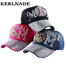 6bbd1807e52c17 wholesale brand Popular young female girl denim baseball caps new fashion  women heart shaped rhinestone jeans snapback hats