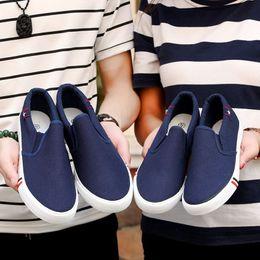 $enCountryForm.capitalKeyWord Australia - Unisex Women Vulcanize Shoes Summer Breathable Trainers Casual Shoes Cheap White Canvas Platform Shoes Sneakers Size 35-44