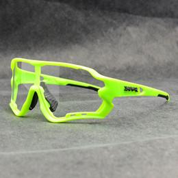 Marka Fotokromik Doğa Sporları Güneş MTB Dağ Bisikleti Bisiklet Binme Bisiklet Gözlük Gözlük Gafas Ciclismo 1 Mercek Hotclipper